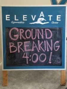 elevate ground breaking